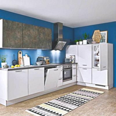 Kleine L Küche Lack matt 21