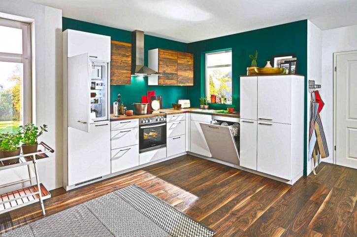 Klassische L Küche 1