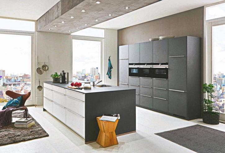 Grauschiefer Insel Küche 1