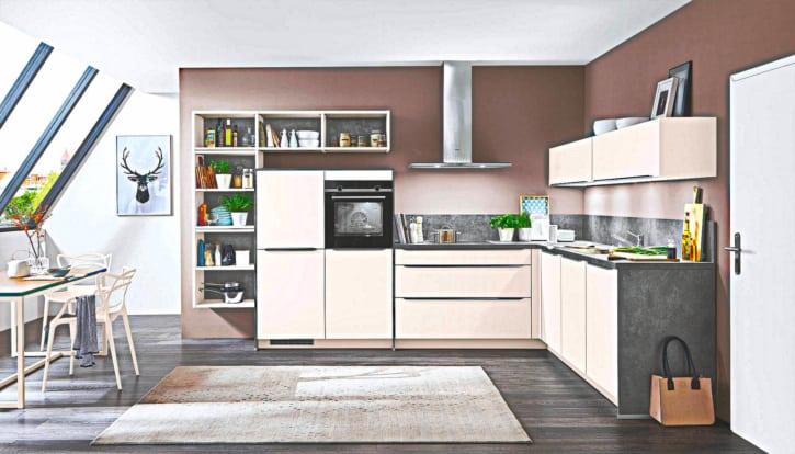 Küchenzeile Anthrazit 1