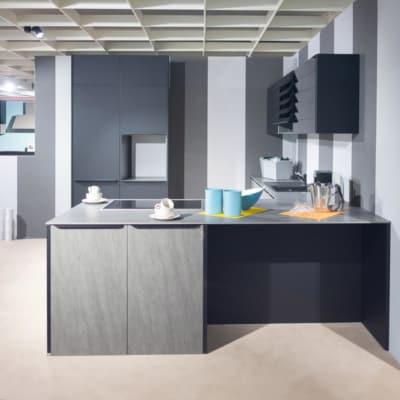 Burger U Küche Basalt Grey 17
