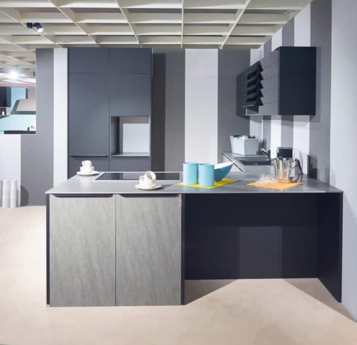 Burger U Küche Basalt Grey 1