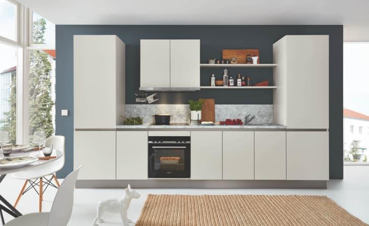 Burger Moderne Küchenzeile Moonlight Grey 1