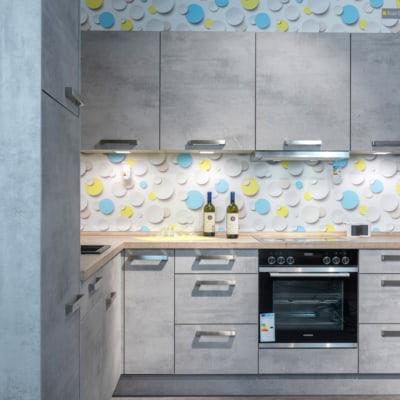 Nolte L Küche Stone Kunststoff Beton