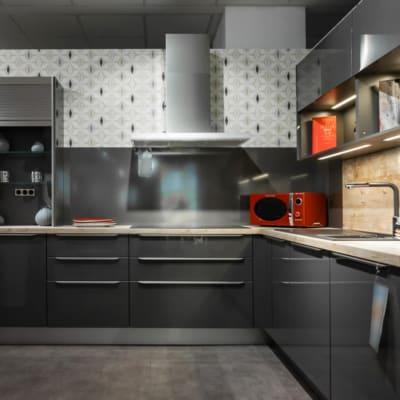 Nobilia U Küche Luxor Schiefergrau 19
