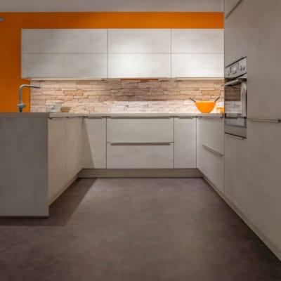 Nobilia U Küche Riva Weißbeton 18