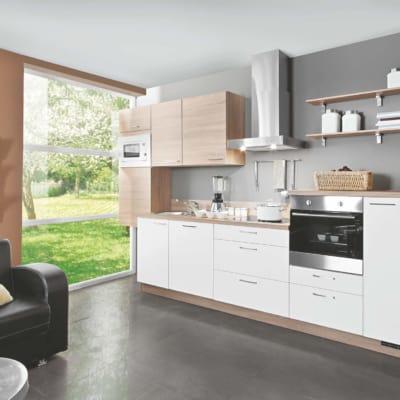 Weiß Bergeiche Modern Küche 5