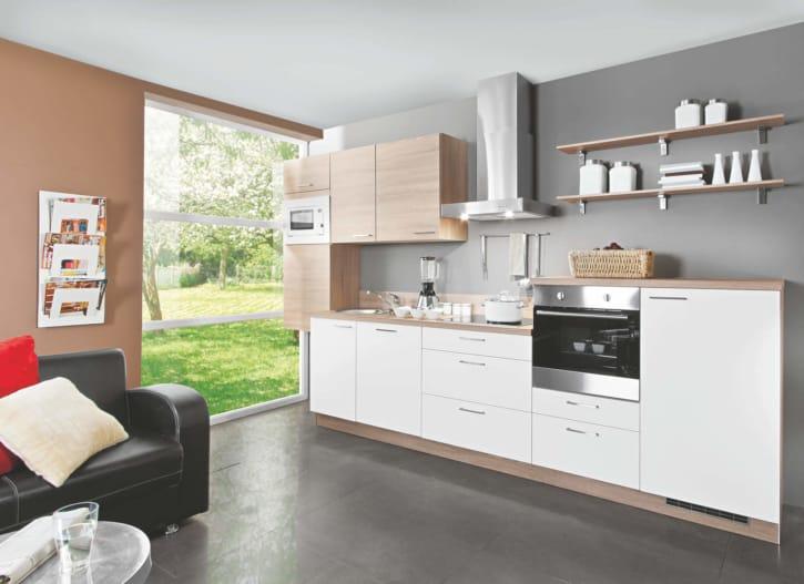 Weiß Bergeiche Modern Küche 1