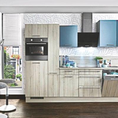 Graue Küchenzeile 1