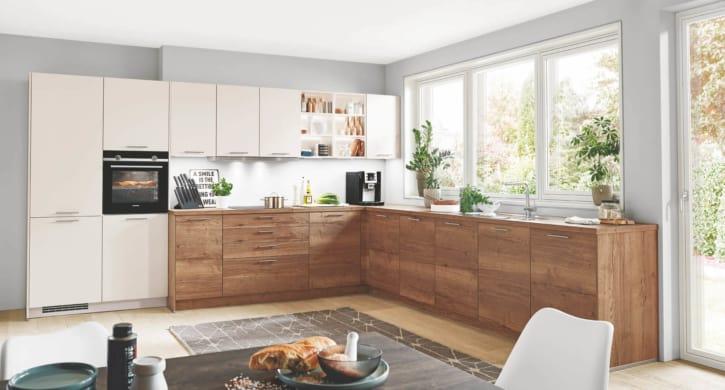 Große Magnolien Eichen L Küche 1