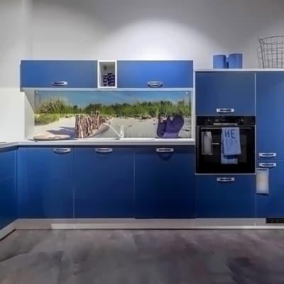 Express L Küche Dunkelblau 12