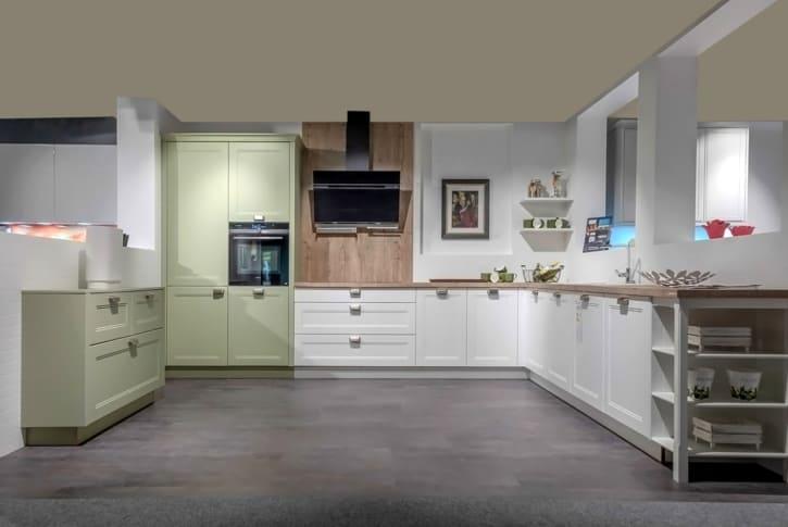Nolte Landhaus Küche Lack Weiß Softmatt