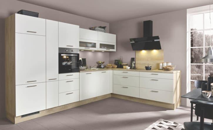 Klassische Silk seidenmatte L Küche 1
