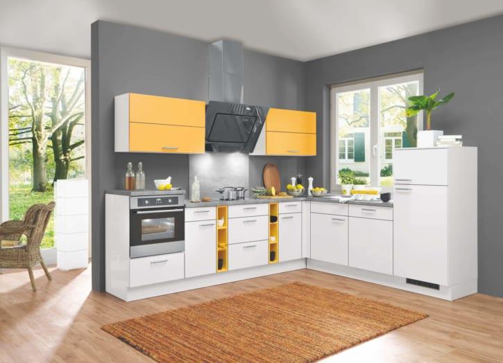 L Küche mit Mondscheingrauen Ton 1