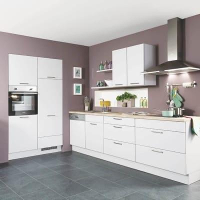 L Küche Lack Seidengrau 27