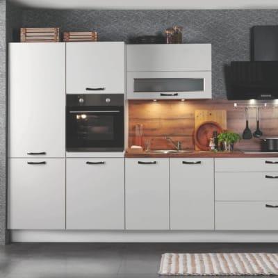 Moderne Weiße Burger Küchenzeile 37