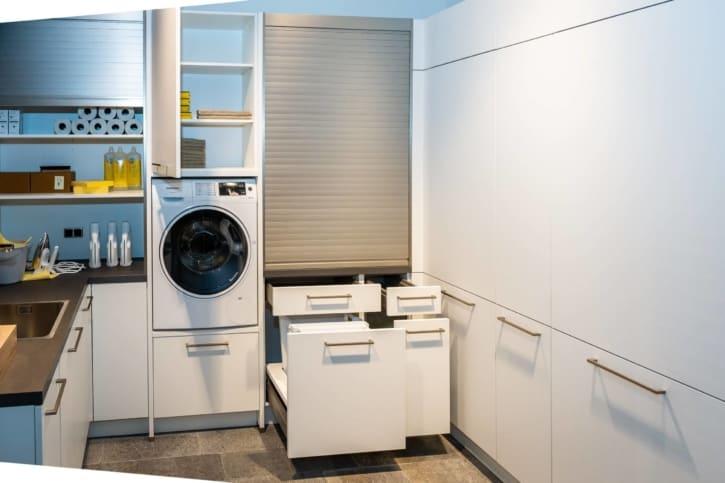 Nolte Hauswirtschaftsraum Weiß softmatt 1