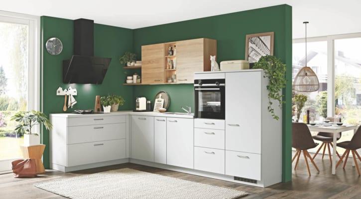 Steingraue L Küche 1