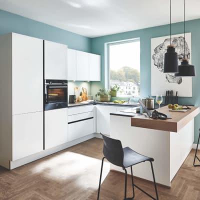 Weiße Design U Küche 21