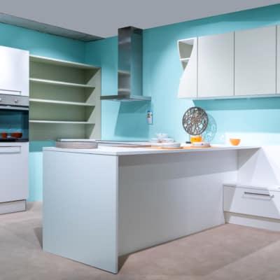 Nolte T-Küche Weiß Softmatt